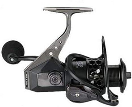elegantstunning Carrete de Pesca Spinning Wheel Reel Aleación de ...