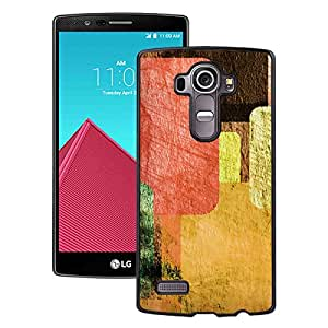 New Pupular And Unique Designed Case For LG G4 With Vintage Colorful Black Phone Case