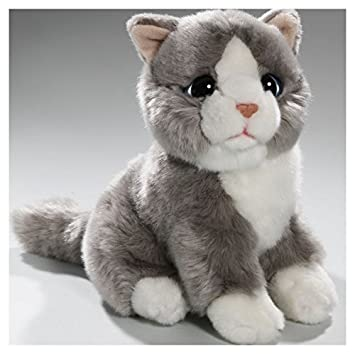 Carl Dick Peluche - Gato gris (felpa, 20cm) [Juguete] 3060