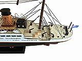 """Hampton Nautical  RMS Titanic 32"""" Wood Replica"""