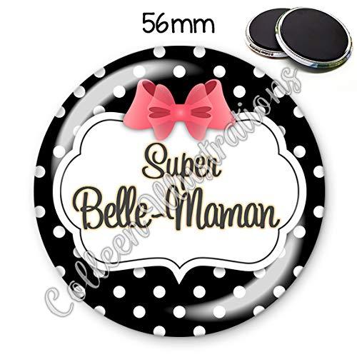 Mag56mm Super belle maman aimant frigo idée cadeau