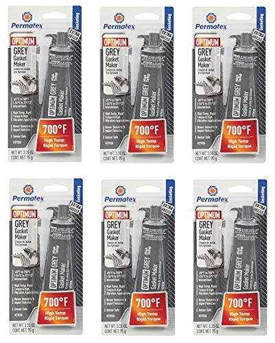 (Permatex  27036 Optimum Grey Gasket Maker 3.35 oz 3.35 Fluid_Ounces (6))