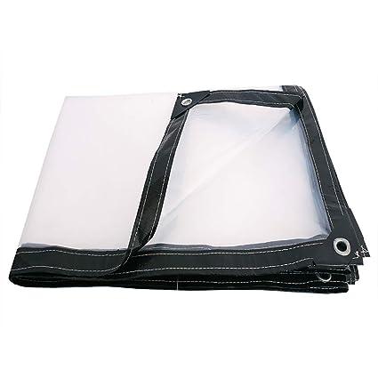 GH PENGBU - Multifuncional Lona Impermeable Transparente Gruesa Impermeable Tela de plástico Tela Aislante de Lona