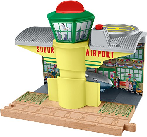 (Fisher-Price Thomas & Friends Wooden Railway, Sodor Airship Hangar)