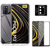 Capa Anti Quedas Xiaomi Poco M3 + Película 5D Nano Cerâmica Full + Película Câmera Nano [Coronitas Acessorios]