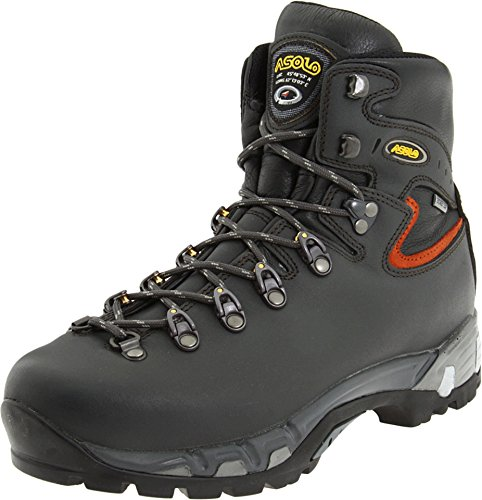 Asolo Mens Power Matic Hiking Dark Graphite Leather Boot 10 M US - Asolo Fugitive Gtx