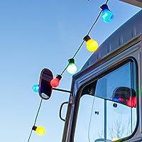 30er LED Party Lichterkette bunt Innen Außen