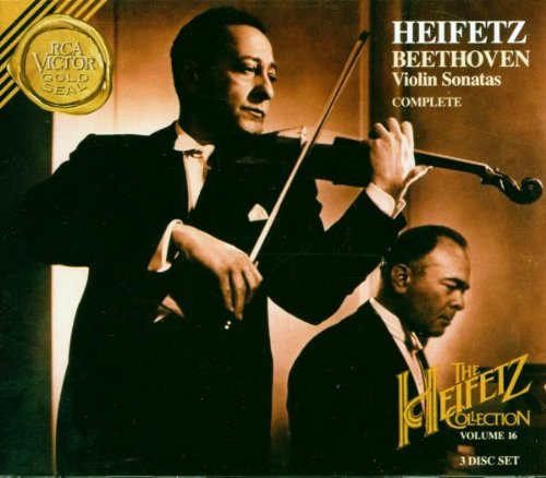 Heifetz Collection: Beethoven Violin Sonatas (Complete), Volume (Heifetz Collection)