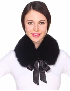 Apparel Accessories 2019 Fashion Fox Femaie Fox Fur Collar Scarf Bow Tie Warm Winter Ladies Party Dress Scarf Wholesale New.