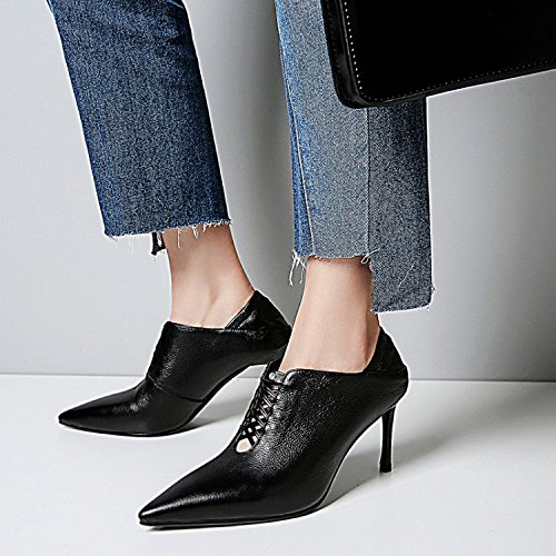High Tips Heels Summer Spring Fashion High Jqdyl Shoes Women'S Black heels qpaHw8Y