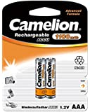 Camelion 17011203 Akku (NiMH, R03, Micro, AAA, 1100 mAh, 2er)