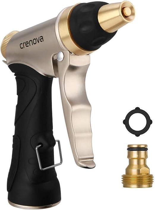 Pistola de Riego | Crenova HN-01 Pistola para Manguera de riego para el jardín - Alta