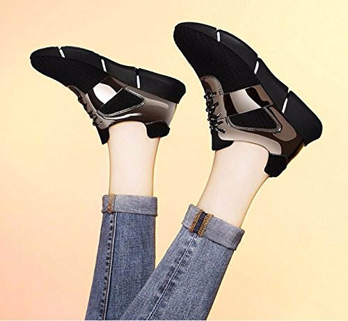 Sport Våren Canvas Casual Students Svarte Sko Sports black Black Studenter 35 Korean New Flat Khskx Canvas 35 Ny Khskx black Koreanske Shoes Female Kvinnelige Flate Uformell Spring AzpqxwH68w