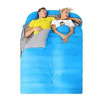 Bolso de Dormir Doble Abajo al Aire Libre Adulto Camping ...