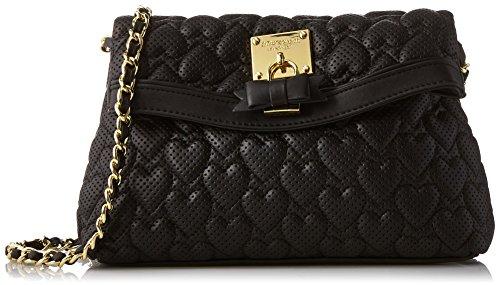 Betsey Johnson Always Be Mine Cross Body Bag, Black, One Size