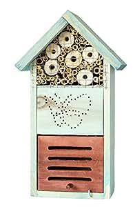 """Bug Hotel - Hotel insectos, Bee Hotel, cucarachas """" 325 latencia de transición - hecha de madera de alta calidad - envío gratis"""