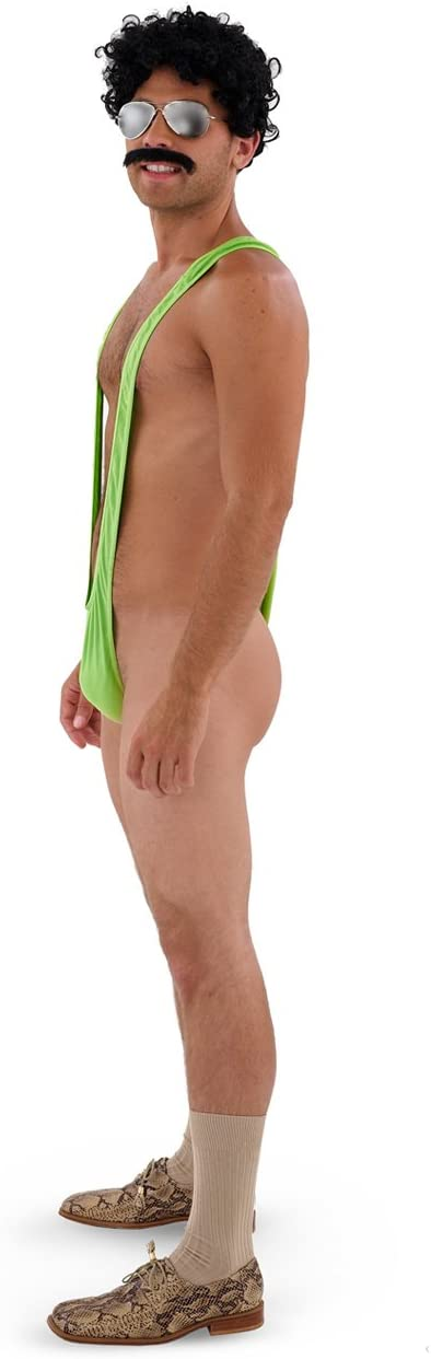 Borat Mankini Adult Thong Costume (disfraz): Amazon.es: Juguetes y ...