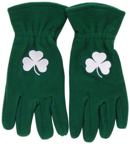 Ireland Fleece Shamrock Gloves