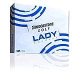 Bridgestone 2015 Lady Precept Yellow Golf Balls 12-Ball Pack
