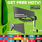 New! Mohu Blade TV Antenna, HD, Indoor Antenna, 50 Mile Range, Amplified, Get Free TV, 4K Ready