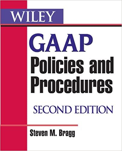 Wiley gaap policies and procedures steven m bragg 9780470081839 wiley gaap policies and procedures steven m bragg 9780470081839 amazon books fandeluxe Image collections