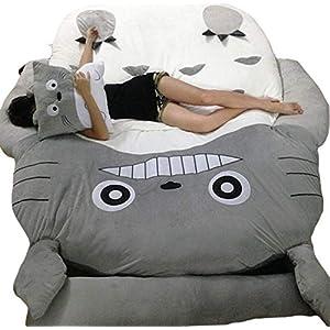 Christmas Unisex-adult Totoro Design Big Sofa Totoro Bed Mattress Sleeping Bag Mattress