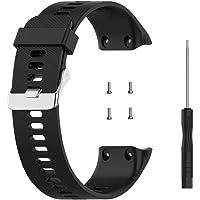 KKPLZZ Bandjes compatibel met Garmin Forerunner 35/35J/Swim 2 Strap, Sport Siliconen Polsband Armband Vervanging Armband…