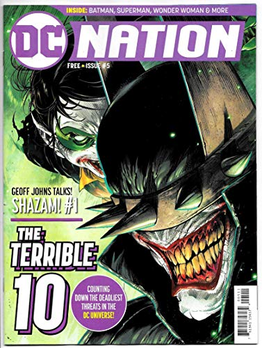 Looking for a dc nation #5 comic? Have a look at this 2019 guide!