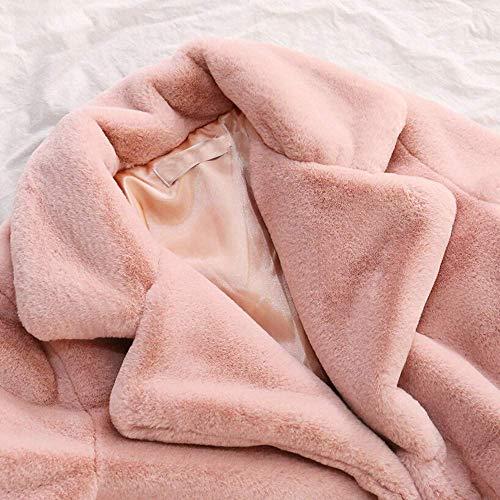 Capispalla Classiche Cardigan Felpe Rosa Classico Invernale Solido Parka Pullover Donne Cappotto Caldo Signore WSqUn