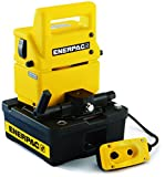 Enerpac PUJ-1200E Economy Electric Pump with 3 Way Valve and 2 Liters Usable Oil Capacity