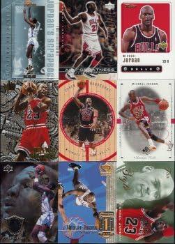 B0001MC2U8 20 Different Michael Jordan Basketball Cards 516C04DTQDL