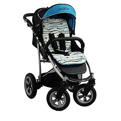 Sillas para bebés de Paseo Todoterreno de Alta Calidad Gazelle 11