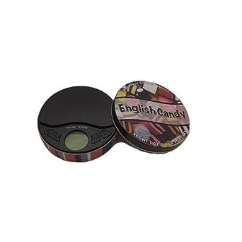 Báscula de bolsillo insolite – Garantía 10 Años – recinto de caramelos (English Candy)