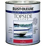 Rust-Oleum 207004 Marine Topside Paint, Bright Red, 1-Quart by Rust-Oleum