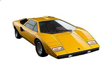 Lamborghini Countach Lp400 1 12 Scale Die Cast Yellow Ver Vehicle