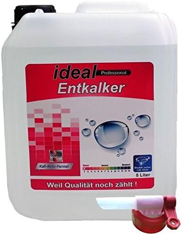 5 litros EX (flüssigent antical) descalcificador de cal en bidón con grifo, adecuado para cafeteras de
