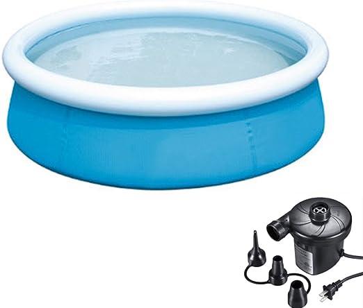 DMGF Hinchable Fácil Juego Pool Familia Jugar Pool Verano Agua ...