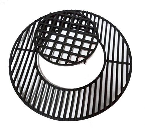 soldbbq Porcelain-Enameled Cast-Iron Gourmet BBQ System Grate Replacement for 22.5