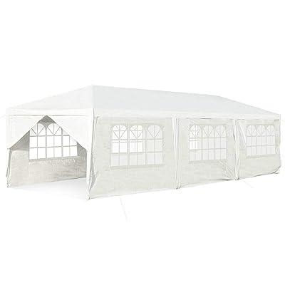simplyUSAhello 10' x 30' Outdoor Party Wedding Tent Canopy Heavy Duty Gazebo : Garden & Outdoor