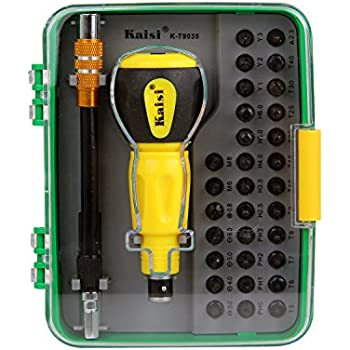 Kaisi 35 in 1 Multi-Functional Precision Screwdriver Tools Set with Magnetic Screwdrivers Computer Repair