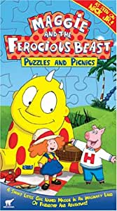 maggie and the ferocious beast coloring pages - maggie and the ferocious beast puzzles and