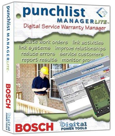 Bosch Punch List Manager Lite #BDPTPLM
