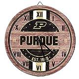 FOCO Purdue Boilermakers NCAA Barrel Wall Clock
