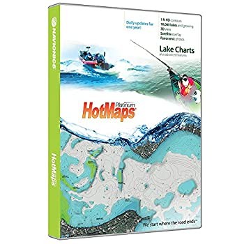 Navionics Hotmaps Platinum East Lake Fishing Maps 1