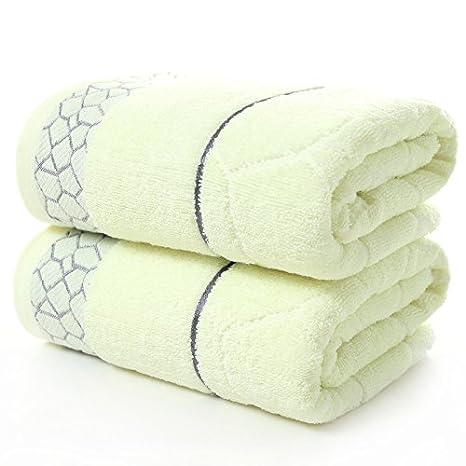 junchen 1 unidades 70 * 140 cm Plaid patrón Jacquard Toalla suaves para adultos pelo mano toallas de mano, a: Amazon.es: Jardín