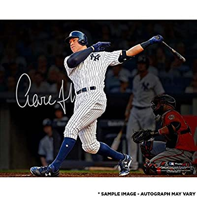 outlet store 8da02 1c6bc Aaron Judge Signed Yankees Authentic Jersey ? All Rise ...
