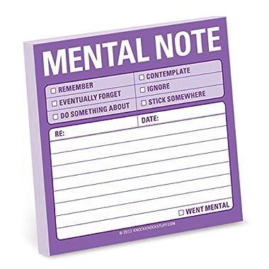 Knock Knock Mental Note Sticky Notes (12435)
