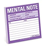Knock Knock Mental Note Cute Funny Sticky Notes (12435)