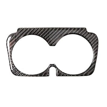 Topker Car Styling Fibra de Carbono Taza de Agua Etiqueta Bloque de Soporte para Mercedes Clase C W205 C180 C200 C300: Amazon.es: Coche y moto