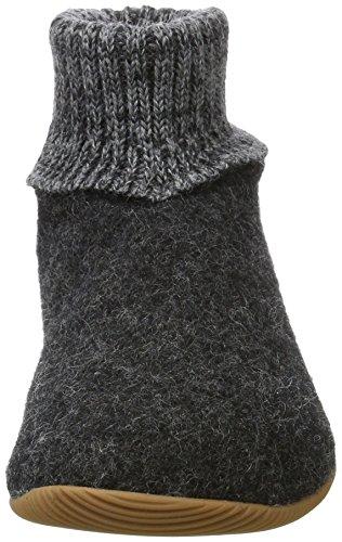 Giesswein Women's Wildpoldsried Hi-Top Slippers Grey (Anthrazit) T9VwQ